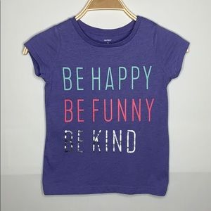 Girls Be Happy carter top size 7